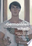 """""""Germanistenscheiß"""""""