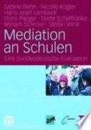 Mediation an Schulen