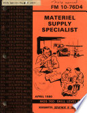 Materiel supply specialist