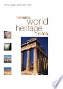 Managing World Heritage Sites book