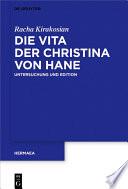 Die Vita der Christina von Hane