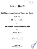 Jahresbericht der Königlich-Bayerischen Gewerbs- und Handelsschule zu Neustadt a. d. Haardt, der daselbst bestehenden Höheren Knabenschule und der Gewerblichen Fortbildungsschule0