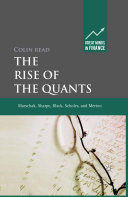 download ebook the rise of the quants pdf epub