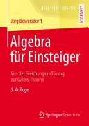 Algebra für Einsteiger