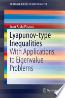Lyapunov type Inequalities