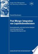 Post Merger Integration von Logistikdienstleistern