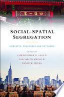 Social spatial segregation
