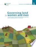 Governing Land For Women And Men