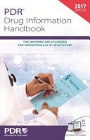 PDR Drug Information Handbook
