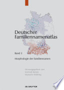 Morphologie der Familiennamen