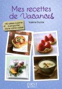 Petit livre de   Mes recettes de vacances