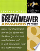 Macromedia Dreamweaver 8 Advanced for Windows and Macintosh