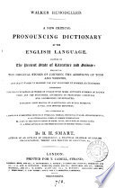 Walker remodelled  a new critical pronouncing dictionary of the English language