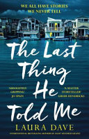 The Last Thing He Told Me Book PDF