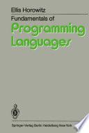 Fundamentals of Programming Languages