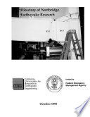 Directory of Northridge Earthquake Research