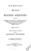 W.W. Reilly & Co.'s Ohio State Business Directory ... for 1853-4 ...