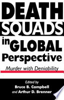 Death Squads in Global Perspective