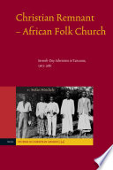 Christian Remnant-African Folk Church In The History Of Religions