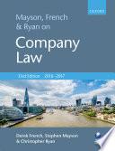 Mayson  French   Ryan on Company Law