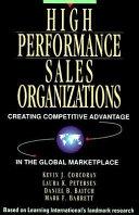 High Performance Sales Organizations