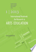 International Yearbook for Research in Arts Education 1 2013