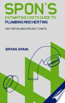 Spon S Estimating Costs Guide To Plumbing And Heating