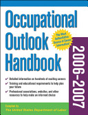 Occupational Outlook Handbook 2006-2007 Occupations Ranging From Lawyers And