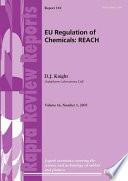 New EU Regulation of Chemicals