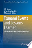 Tsunami Events And Lessons Learned book
