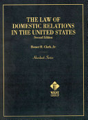 The law of domestic relations in the United States