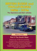 British Buses And Trolleybuses 1950s 1970s