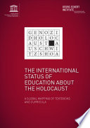 The International Status Of Education About The Holocaust