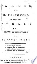 Fables  by Mrs  Teachwell  in which the morals are drawn incidentally in various ways