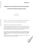 Multilateral Trade Liberalization and Mexican Households