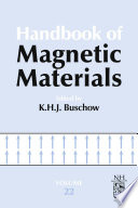 Handbook Of Magnetic Materials book