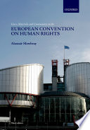 Cases  Materials  and Commentary on the European Convention on Human Rights