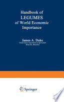 Handbook of LEGUMES of World Economic Importance Hawaii Where An International Panel Convened To