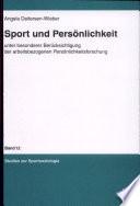 Sport und Persönlichkeit