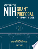 Writing the NIH Grant Proposal
