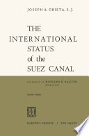 The International Status of the Suez Canal