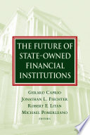 The Future Of State Owned Financial Institutions
