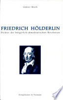 Friedrich H  lderlin