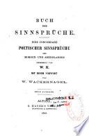 Buch der Sinnspr  che