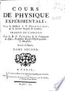 Cours de physique expérimentale