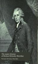 The Major Dramas Of Richard Brinsley Sheridan