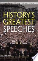 History S Greatest Speeches