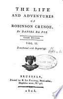 The Life and Adventures of Robinson Crusoe Book PDF