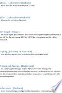 Lexikon / Glossar: Grundlagen Begriffe Wortschatz Elektronik Lexikon / Glossar: Grundlagen Begriffe Wortschatz Elektronik Alphabetical index of 2000 technical terms electronics