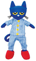 Pete the Cat Bedtime Blues Doll